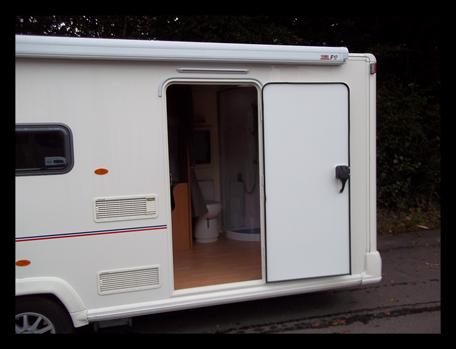 Exterior door widening pic & Motorhome conversions - caravan conversions - modifications pezcame.com